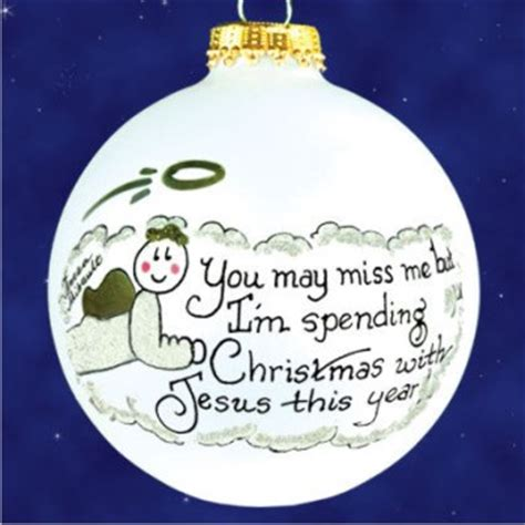 in memory of tree ornaments ornament in memory of personalized