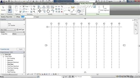 revit tutorial grid revit architecture building a house tutorial