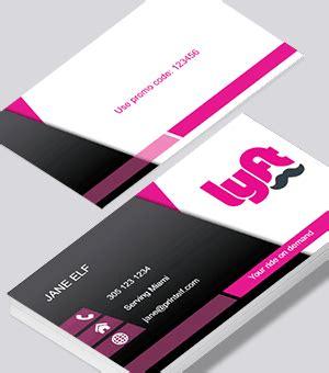 Lyft Business Cards