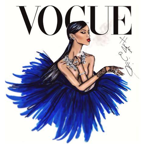 fashion illustration vogue covers hayden williams fashion illustrations rihanna