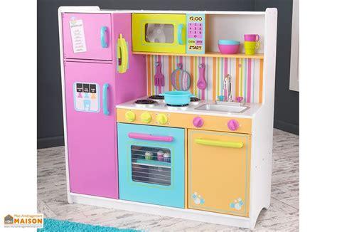cuisine bois enfant kidkraft cuisine en bois pour enfants color 233 e 1 10 m kidkraft