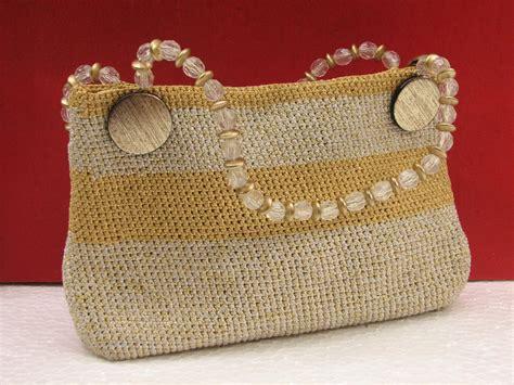 Handmade Crochet Bags And Purses - disha foundation handmade crochet bags
