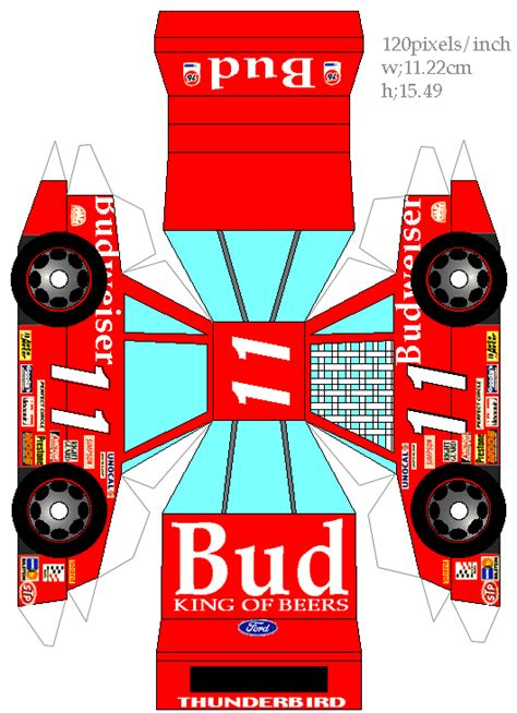 Nascar Papercraft - 1000 images about printable cars on