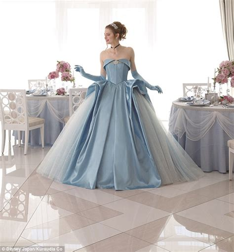 Disney inspired gowns let brides become princess for day   Daily Mail Online