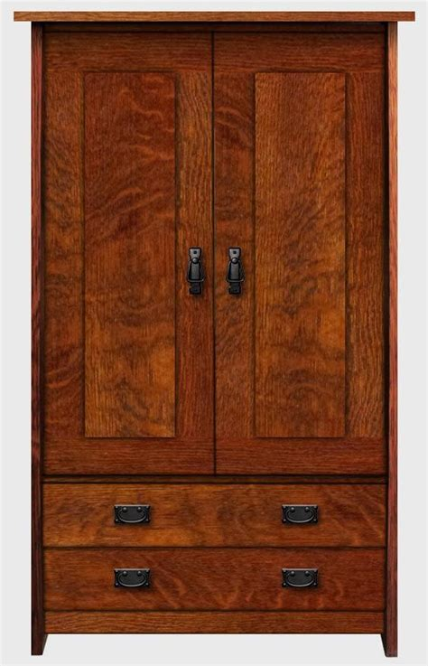 mission style armoire mission style bedrooms arts crafts and armoires on