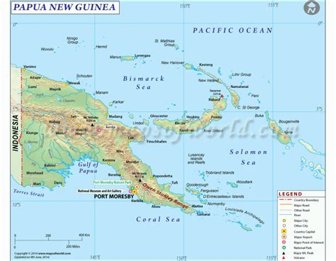 Spanish Home Decor Store by Buy Papua New Guinea Map