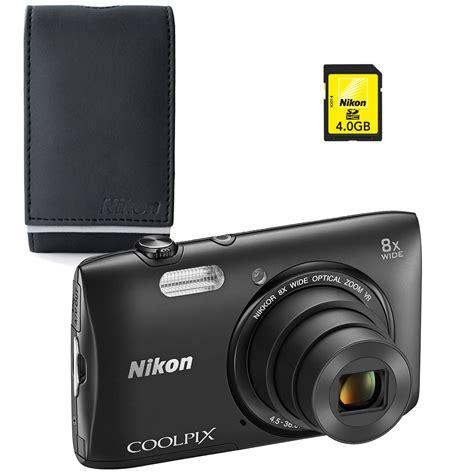 Kamera Nikon S3600 nikon coolpix s3600 noir nikon alm2400bv carte sdhc 4 go appareil photo num 233 rique nikon