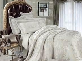Luxury Bedding Set 4 Jacquard Luxury Bedding Set Illusory Myth Sets083