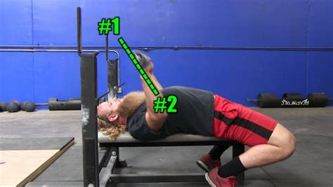 how to start bench pressing bench press bar path