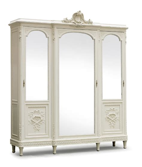 armoire uk fabulous flatpack breakfront louis xv style french painted