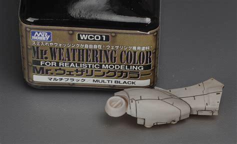 Diskon Mr Weathering Color 01 ส คราบดำ mr weathering color multi black wc01