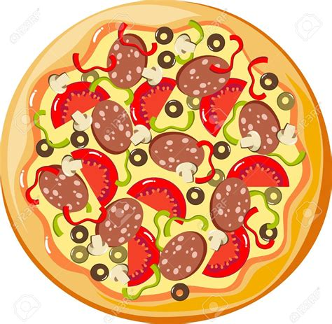 clipart vectors pizza clipart vector pencil and in color pizza clipart