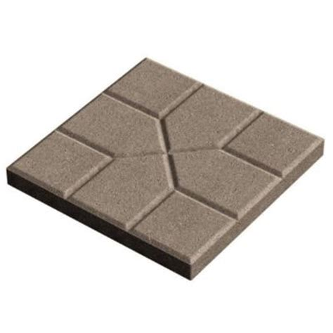 decorative stepping stones home depot oldcastle 16 in x 16 in square concrete step stone