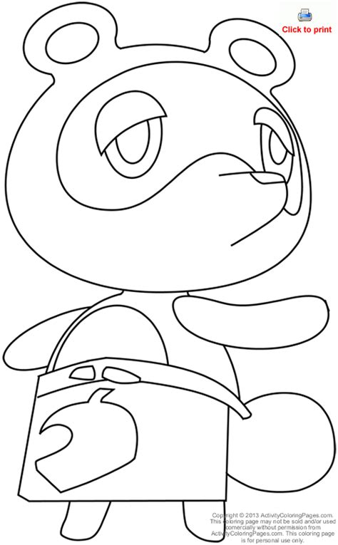 animal crossing coloring pages google search colouring