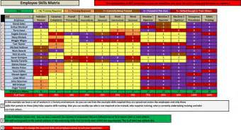 employee skills matrix software business other
