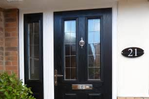 exterior doors composite black composite entrance door