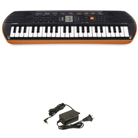 portable keyboards bh photo video manual guide casio sa 76 portable keyboard kit user manual guide