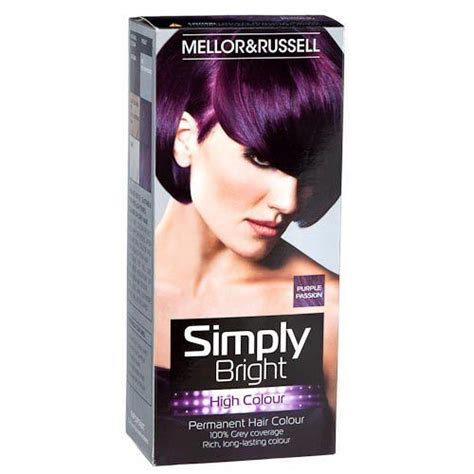 purple permanent hair color hair dye colour purple permanent hair colour 100