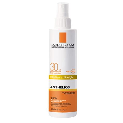 la roche posay anthelios 60 ultra light sunscreen fluid la roche posay anthelios xl ultra light spray spf 30