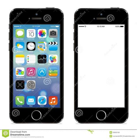 Illustrations For Iphone 5 5s iphone 5s editorial stock photo image of calls apps 33603158