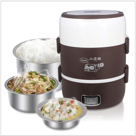 Home Lunch Box Rice Cooker Tlb 111 multifunctional electric heating lunch box jpg
