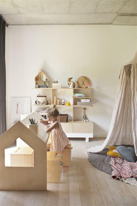 mobilier chambre d enfant mobilier 233 cologique au design minimaliste dans une chambre