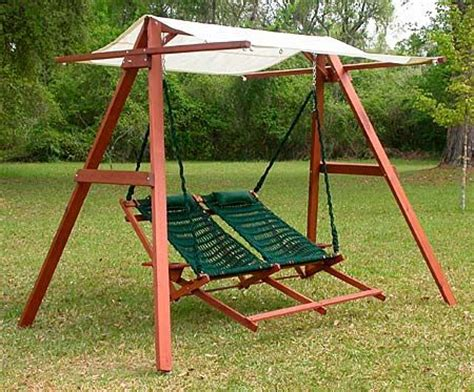 porch swing a frame wooden swing a frame with canopy adapt to existing