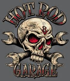 Cool Garage Designs quot rat rod quot sign with skull szukaj w google tat