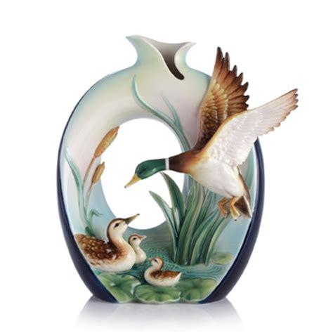 franz porcelain vase franz porcelain guardian mallard vase