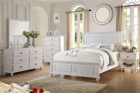 poundex pcs bedroom set queen bednsdressermirror
