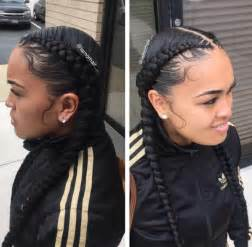hair styles to cover bad edges braids and laid edges by iamorhair black hair information