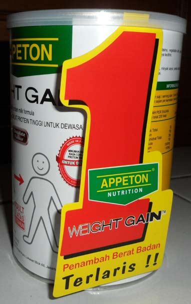 Appeton Weight Gain 450gr new milk powder appeton weight gain and 50 similar items