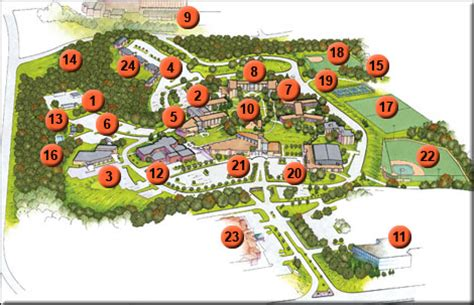 Main Campus Map Maryville University Acalog ACMS?