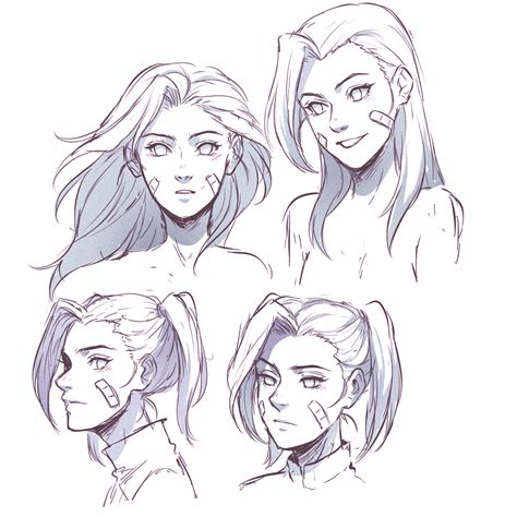 Sketches 4 Daughters by Nejiten Daughters