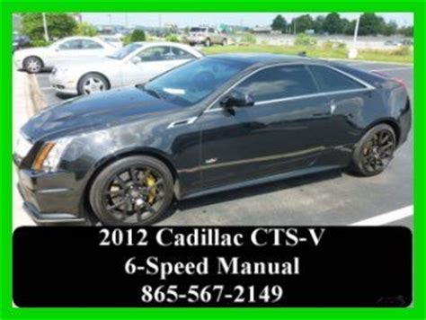 buy car manuals 2012 cadillac cts v electronic toll collection buy used 2012 6 2l v8 manual caddy cts v coupe recaro seats sunroof cadillac in knoxville
