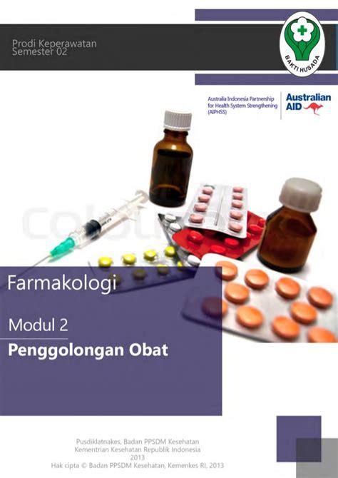 Dasar Dasar Farmakologi Keperawatan modul farmakologi 2 kb 2