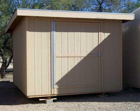 lean  style single slope shed plans  porch