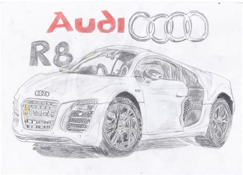 how to draw an audi r8 drawingforall net audi r8 drawing by amezy2000 on deviantart