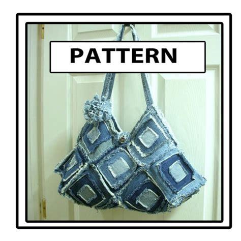 pattern for blue jean purse square blue jean denim purse pattern