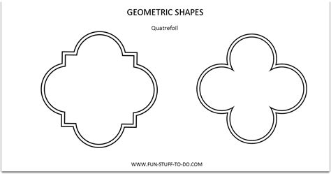 printable quatrefoil template the quatrefoil shape of the past or of things to come