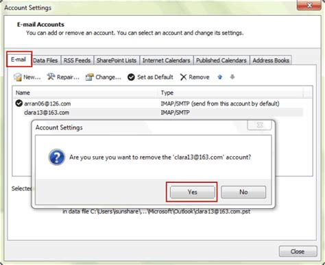 Search Emails In Outlook 2010 How To Setup And Delete E Mail Account In Outlook 2010 Isunshare Blogisunshare
