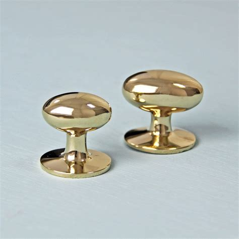 Brass Cabinet Knobs by Oval Brass Cabinet Knobs