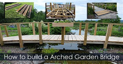 how to build a garden bridge water gardening projects water garden landscaping ideas
