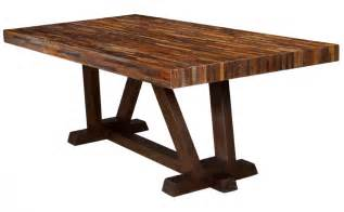 Dining Table Wood Reclaimed Peroba Wood Furniture Zin Home