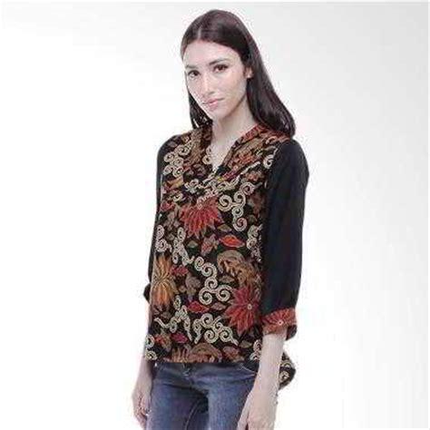 Blouse Baju Atasan Atasan Wanita Blus 15 ッ 15 model gamis atasan batik kombinasi bolero modern