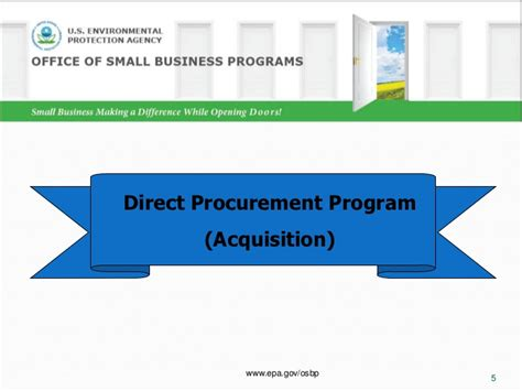 section 3 small business act doing business with the environmental protection agency v3