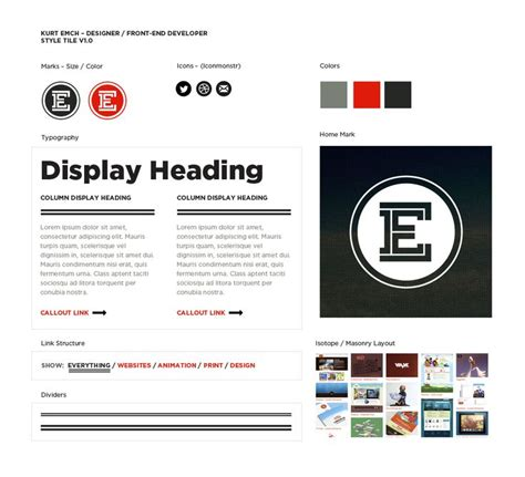 web design guidelines template 1000 images about style tiles on pinterest logos brand