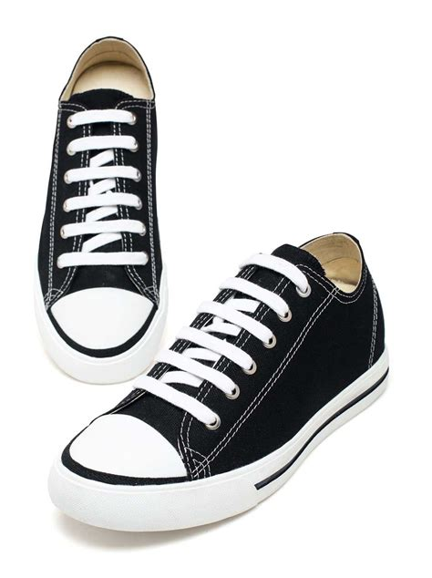 elevator sneakers height increasing canvas shoes chamaripa elevator shoes