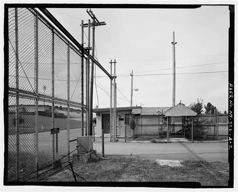 Arrest Records Plattsburgh Ny Building And Security Gate View To Northeast Plattsburgh Air Base