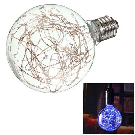 globe bulb string lights vintage globe edison light bulb led starry string lights